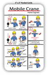 Mobile Crane Hand Signals ENGLISH - PCARD-HS1